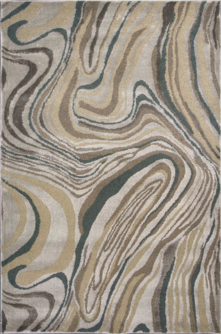 KAS Home Timeless 8010 Silver Wood Grains Area Rug by Donny Osmond main image