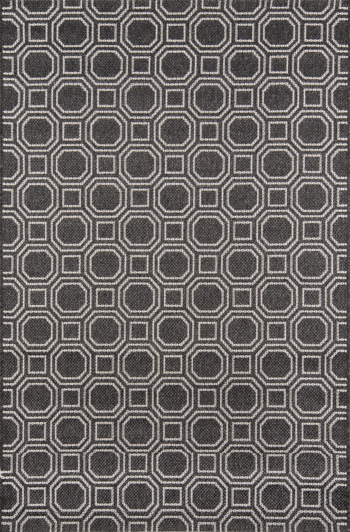 Momeni Downeast DOW-1 Charcoal Area Rug by Erin Gates main image