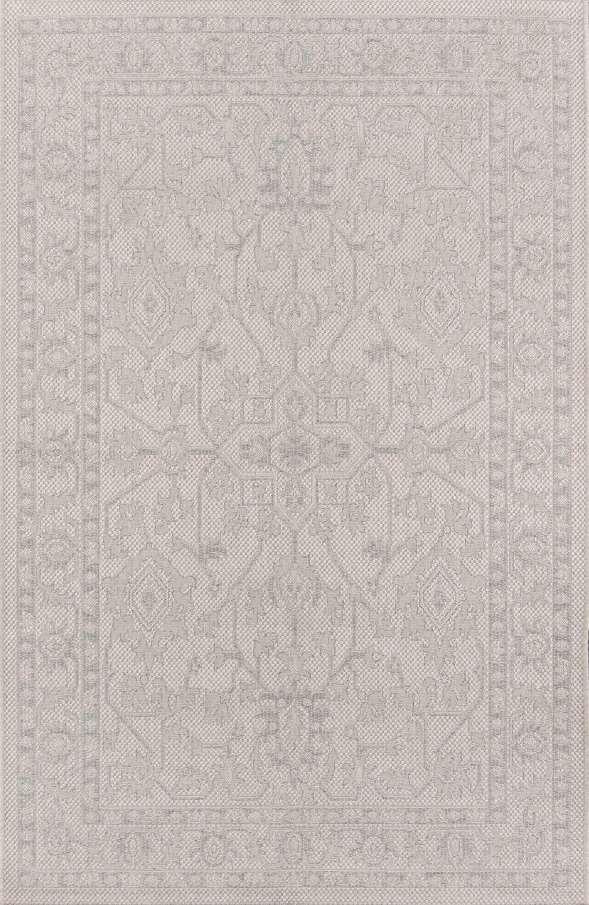 Momeni Downeast DOW-3 Grey Area Rug by Erin Gates main image