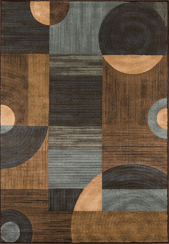 Momeni Dream DR-01 Brown Area Rug main image