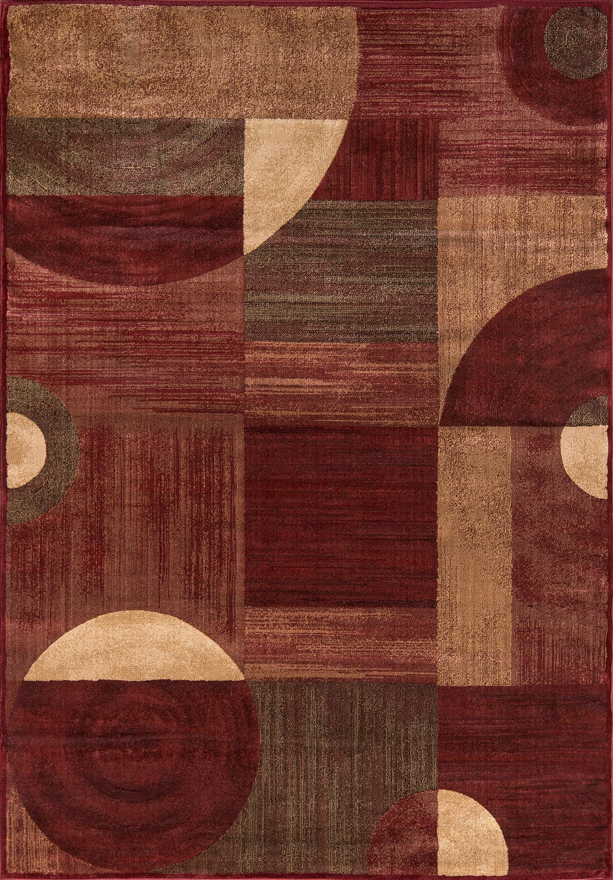 Momeni Dream DR-01 Red Area Rug main image