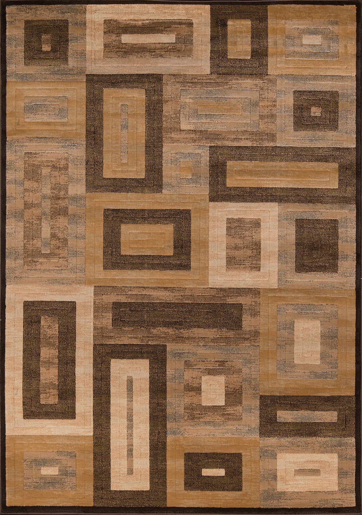 Momeni Dream DR-02 Brown Area Rug main image