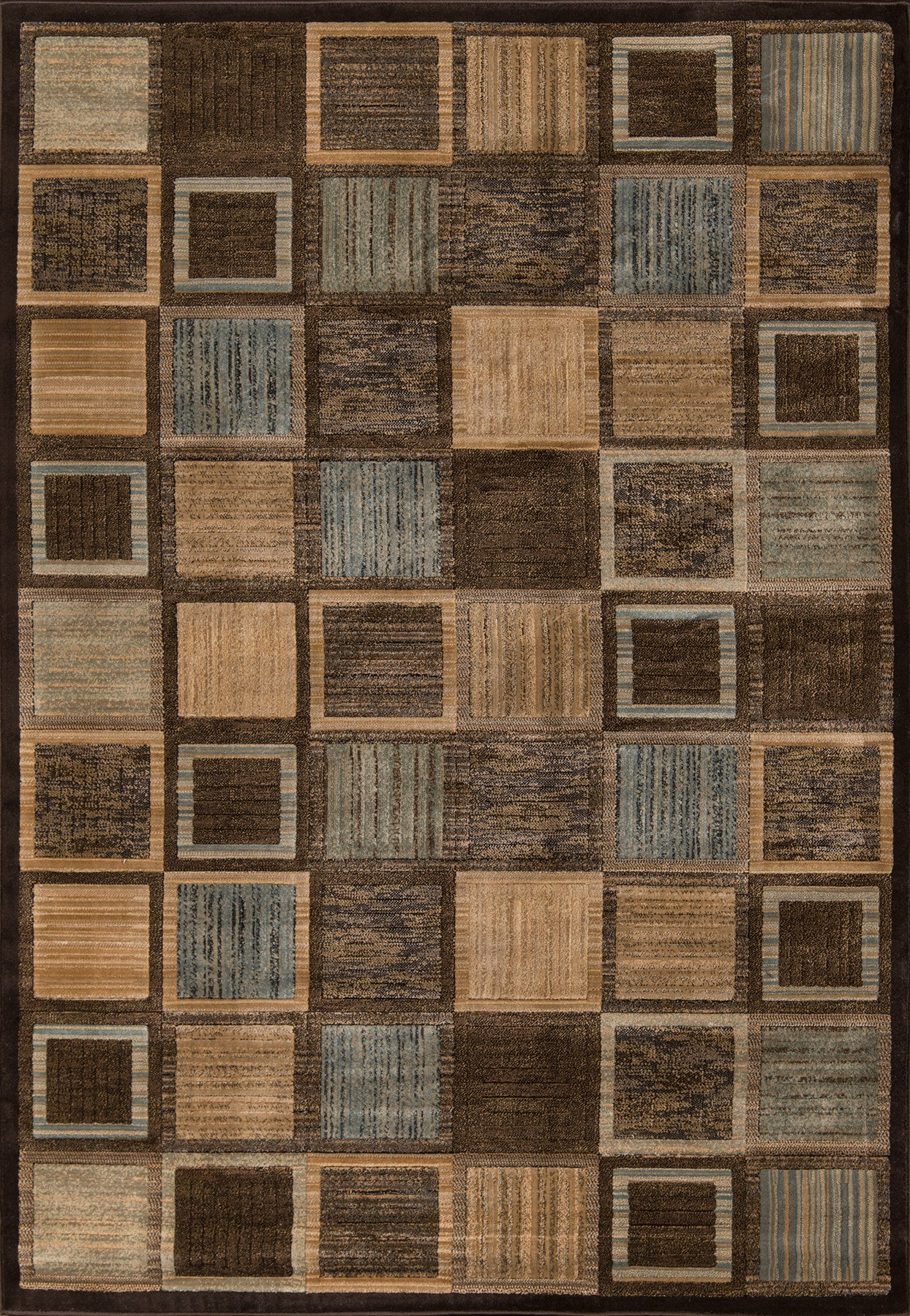 Momeni Dream DR-07 Brown Area Rug main image