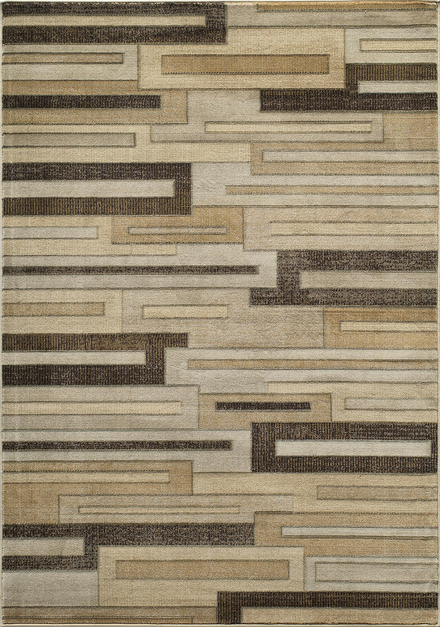 Momeni Dream DR-08 Brown Area Rug main image