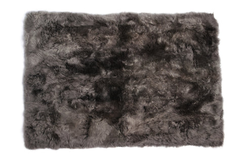 Auskin Luxury Skins Long Wool Sheepskin Vole Animal Hide Area Rug
