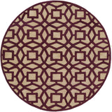 Surya Dream DST-1171 Magenta Area Rug 8' Round