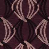 Surya Dream DST-1174 Eggplant Hand Tufted Area Rug Sample Swatch