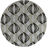 Surya Dream DST-1177 Slate Area Rug 8' Round