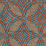 Surya Dream DST-1182 Chocolate Hand Tufted Area Rug Sample Swatch