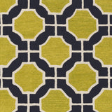 Surya Dream DST-1187 Lime Area Rug Sample Swatch