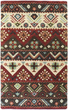 Surya Dream DST-381 Burgundy Area Rug 5' x 8'