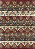 Surya Dream DST-381 Burgundy Area Rug 8' x 11'