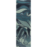 Surya Destinations DTN-52 Teal Area Rug by Malene B 2'6'' x 8' Runner