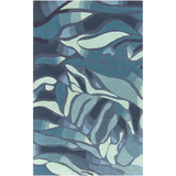 Surya Destinations DTN-52 Teal Area Rug by Malene B 5' x 8'