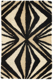 Surya Destinations DTN-65 Black Area Rug by Malene B 2' x 3'