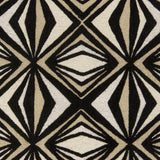 Surya Destinations DTN-65 Black Hand Tufted Area Rug by Malene B Sample Swatch