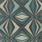 Surya Destinations DTN-67 Teal Hand Tufted Area Rug by Malene B Sample Swatch