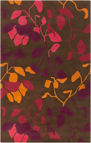 Surya Destinations DTN-74 Cherry Area Rug by Malene B main image