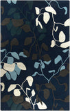 Surya Destinations DTN-75 Navy Area Rug by Malene B main image