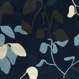 Surya Destinations DTN-75 Navy Hand Tufted Area Rug by Malene B Sample Swatch