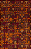 Surya Destinations DTN-77 Cherry Area Rug by Malene B main image