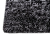 MAT Surface Dubai Charcoal Area Rug Corner Shot