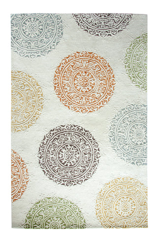 Dynamic Rugs Allure 1918 Ivory Area Rug main image