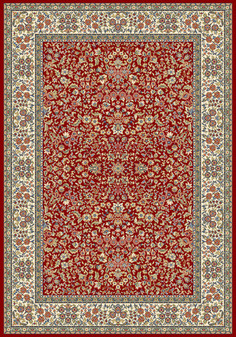 Dynamic Rugs Ancient Garden 57078 Red/Ivory Area Rug main image
