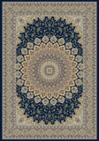 Dynamic Rugs Ancient Garden 57090 Navy Area Rug main image