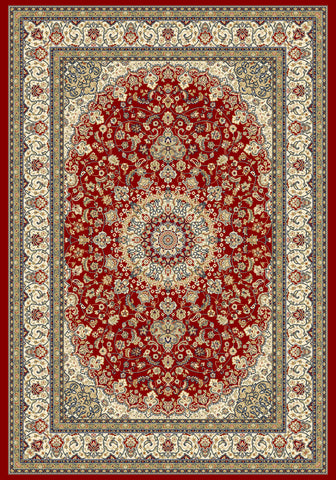 Dynamic Rugs Ancient Garden 57119 Red/Ivory Area Rug main image