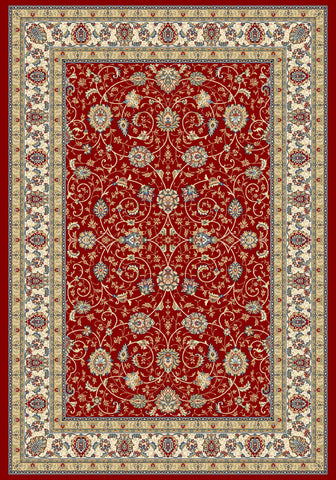 Dynamic Rugs Ancient Garden 57120 Red/Ivory Area Rug main image