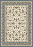 Dynamic Rugs Ancient Garden 57120 Ivory/Light Blue Area Rug main image