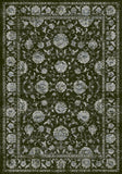 Dynamic Rugs Ancient Garden 57126 Charcoal/Silver Area Rug main image
