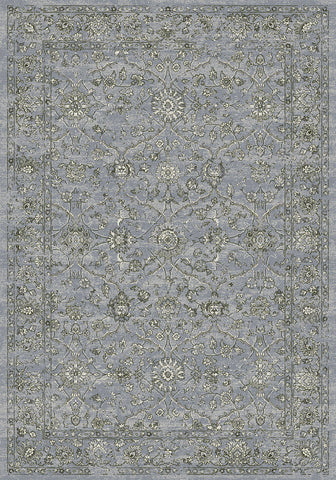 Dynamic Rugs Ancient Garden 57136 Steel Blue/Cream Area Rug main image