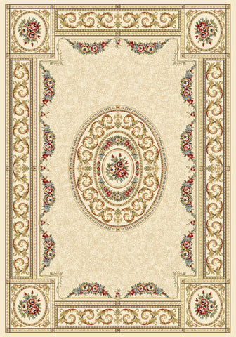 Dynamic Rugs Ancient Garden 57226 Ivory Area Rug main image