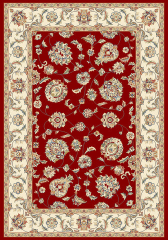 Dynamic Rugs Ancient Garden 57365 Red/Ivory Area Rug main image