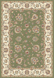 Dynamic Rugs Ancient Garden 57365 Green/Ivory Area Rug main image