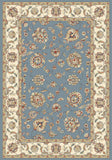 Dynamic Rugs Ancient Garden 57365 Light Blue/Ivory Area Rug main image
