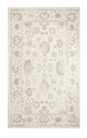 Dynamic Rugs Avalon 88800 Ivory/Silver Area Rug main image