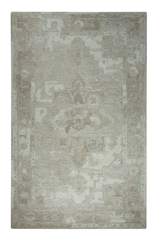 Dynamic Rugs Avalon 88801 Taupe/Ivory Area Rug main image