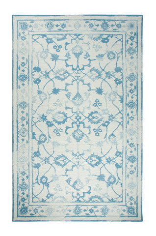 Dynamic Rugs Avalon 88802 Ivory/Light Blue Area Rug main image