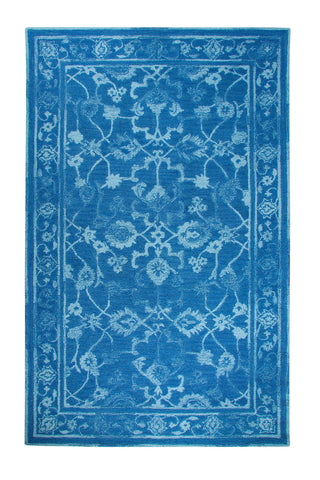Dynamic Rugs Avalon 88802 Dark Blue/Light Blue Area Rug main image