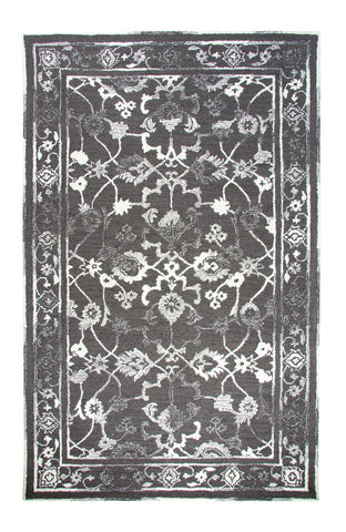 Dynamic Rugs Avalon 88802 Charcoal/Ivory Area Rug main image