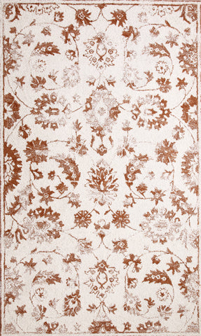 Dynamic Rugs Avalon 88803 Ivory/Rust Area Rug main image