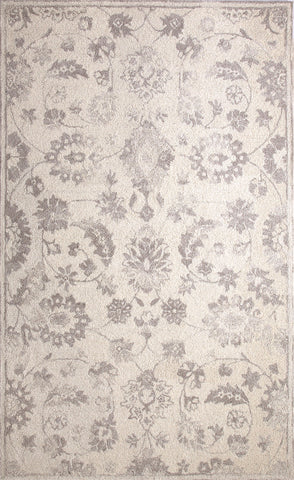 Dynamic Rugs Avalon 88803 Ivory/Silver Area Rug main image