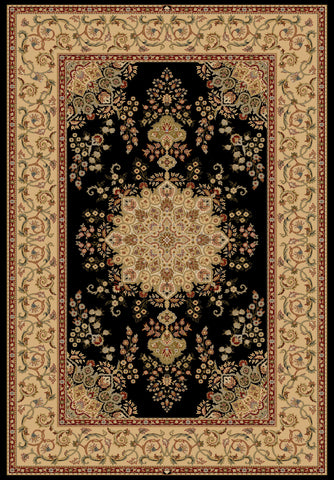Dynamic Rugs Brilliant 7201 Black Area Rug main image
