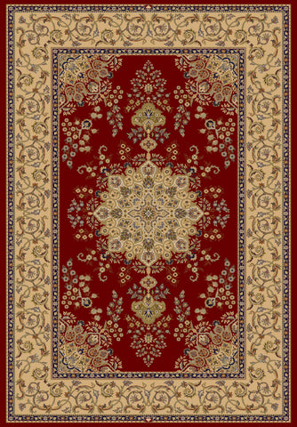 Dynamic Rugs Brilliant 7201 Red Area Rug main image