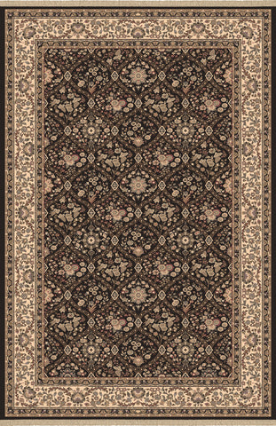 Dynamic Rugs Brilliant 7211 Black Area Rug main image