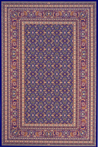 Dynamic Rugs Brilliant 72240 Navy Area Rug main image