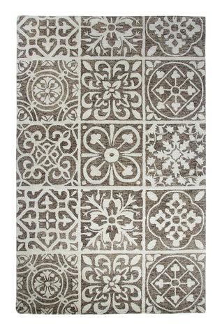 Dynamic Rugs Casual 92334 Silver/Charcoal Area Rug main image